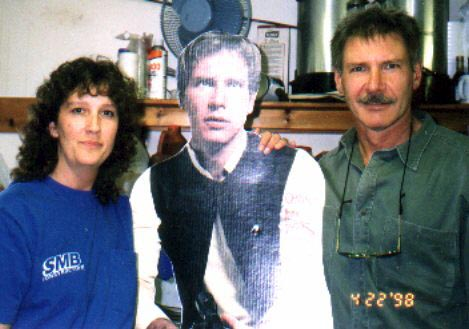 Harrison Ford, Indiana and Donna